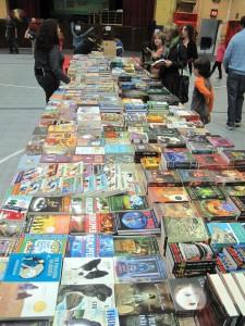 WA book fair table