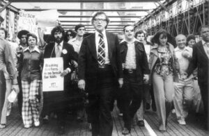 Brooklyn bridge protest