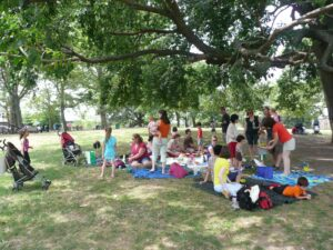 Picnic in Sunset Park