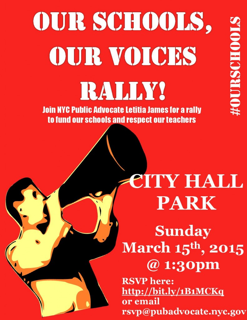Rally Sunday March 15, 2015