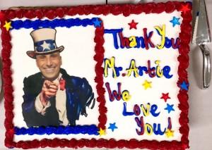 Mr. Artie PTA Meeting CAKE