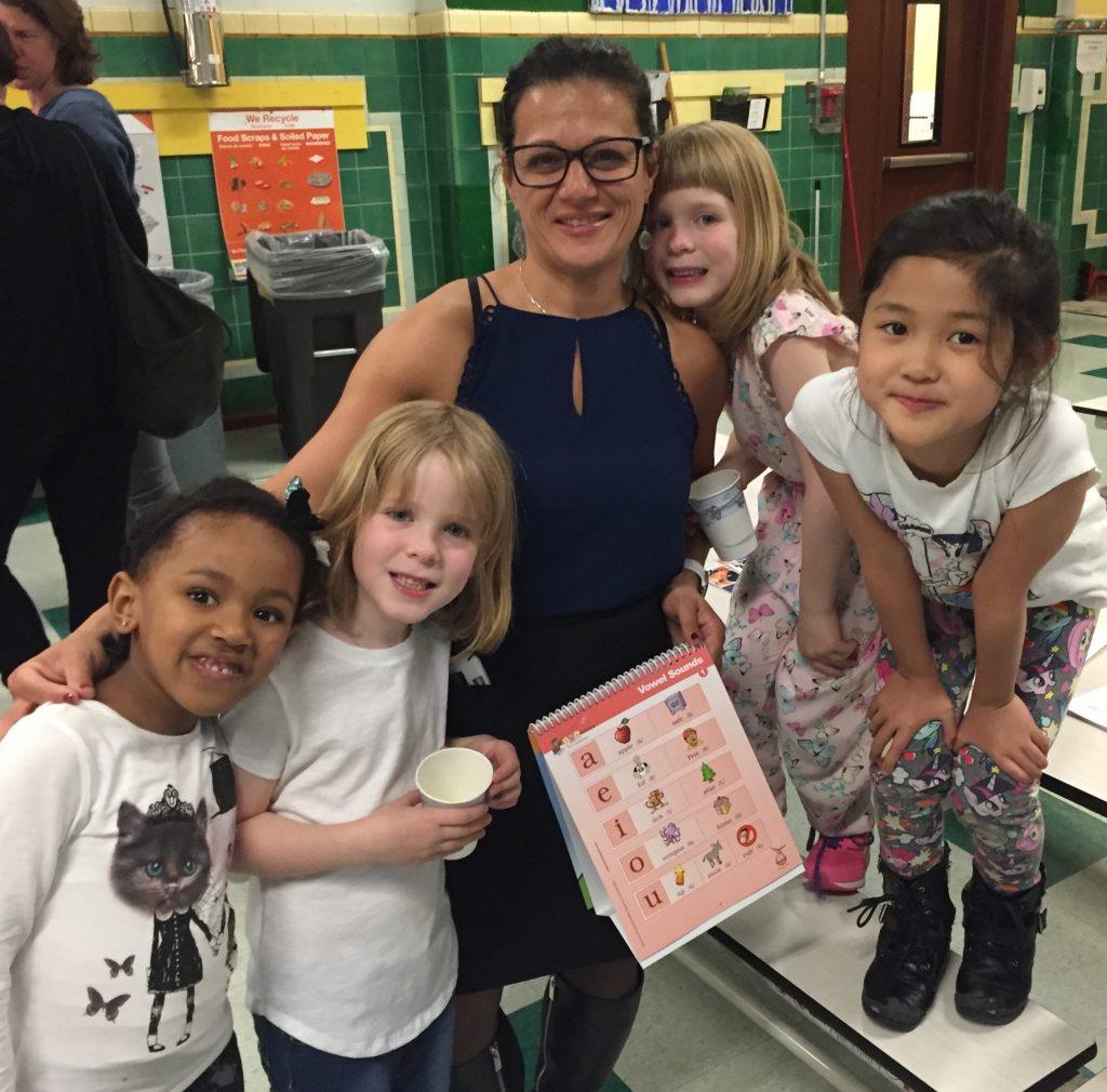 Ms. Rosa & kids